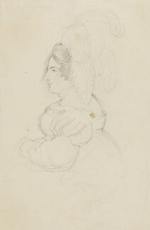 Caroline Amelia Elizabeth of Brunswick, by Sir George Hayter - NPG 2662(2)