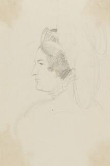 Caroline Amelia Elizabeth of Brunswick, by Sir George Hayter, circa 1820 - NPG 2662(3) - © National Portrait Gallery, London