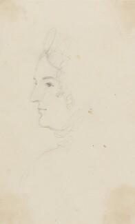 Caroline Amelia Elizabeth of Brunswick, by Sir George Hayter, circa 1820 - NPG 2662(4) - © National Portrait Gallery, London