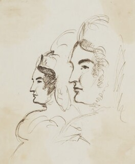 Caroline Amelia Elizabeth of Brunswick, by Sir George Hayter, circa 1820 - NPG 2662(8) - © National Portrait Gallery, London