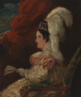 Caroline Amelia Elizabeth of Brunswick, by Sir George Hayter - NPG 4940