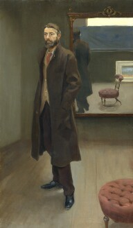 Edward Carpenter, by Roger Fry, 1894 - NPG 2447 - © National Portrait Gallery, London