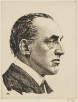 Edward Henry Carson, 1st Baron Carson, by John George Day - NPG 2916