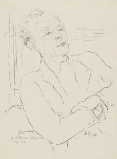 Joyce Cary, by Katerina Wilczynski - NPG 4822