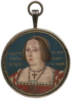 Katherine of Aragon, attributed to Lucas Horenbout (or Hornebolte) - NPG 4682