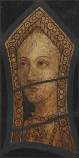 Unknown woman, formerly known as Katherine of Aragon, by Wilfred James Drake - NPG 2421