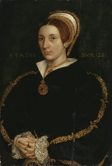 Unknown woman, formerly known as Catherine Howard, after Hans Holbein the Younger, late 17th century - NPG 1119 - © National Portrait Gallery, London