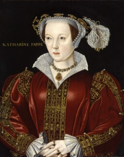 Katherine Parr, by Unknown artist, late 16th century - NPG 4618 - © National Portrait Gallery, London