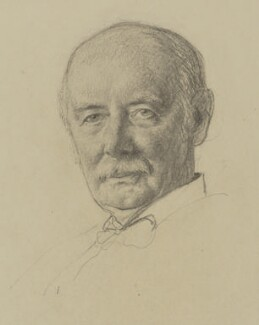 George Cave, Viscount Cave, by Francis Dodd - NPG 4421
