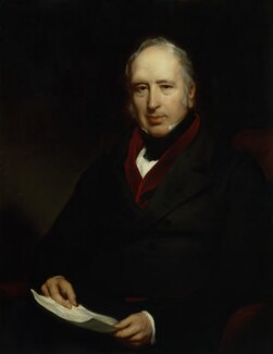 Sir George Cayley, 6th Bt, by Henry Perronet Briggs - NPG 3977