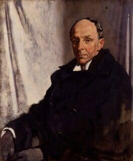 Edgar Algernon Robert Gascoyne-Cecil, 1st Viscount Cecil of Chelwood, by Sir William Orpen - NPG 4184