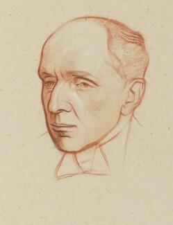 Edgar Algernon Robert Gascoyne-Cecil, 1st Viscount Cecil of Chelwood, by William Rothenstein - NPG 4769