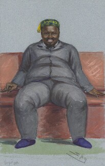 Cetshwayo ka Mpande, by Sir Leslie Ward - NPG 2699