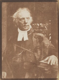 Thomas Chalmers, by David Octavius Hill, and  Robert Adamson - NPG P6(6)