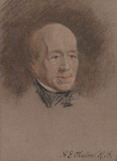 Unknown man, formerly known as Alfred Edward Chalon, by Unknown artist - NPG 3260