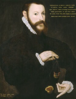 Sir Thomas Chaloner, by Unknown Flemish artist, 1559 - NPG 2445 - © National Portrait Gallery, London