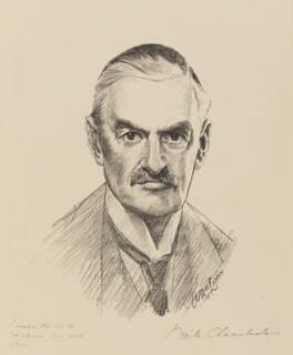Neville Chamberlain, by Andrew MacLaren - NPG 4413