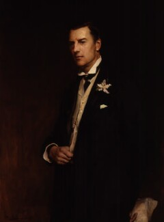 Joe Chamberlain, by Frank Holl - NPG 1604