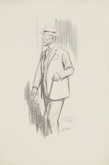 Sir (Joseph) Austen Chamberlain, by Sir David Low - NPG 4562