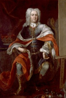 James Brydges, 1st Duke of Chandos, by Herman van der Myn, before 1726 - NPG 530 - © National Portrait Gallery, London