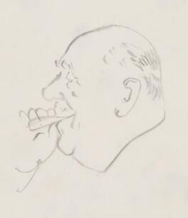 Oliver Lyttelton, 1st Viscount Chandos, by Sir David Low - NPG 4529(79)
