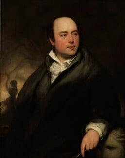 Sir Francis Leggatt Chantrey, by Thomas Phillips, 1818 - NPG 86 - © National Portrait Gallery, London