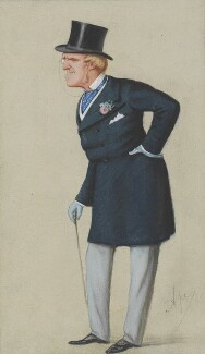 Henry Chaplin, 1st Viscount Chaplin, by Carlo Pellegrini, published in Vanity Fair 5 December 1874 - NPG 3189 - © National Portrait Gallery, London