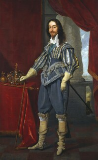 King Charles I, by Daniel Mytens, 1631 - NPG  - © National Portrait Gallery, London