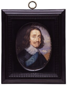 King Charles I, by David Des Granges, after  John Hoskins, based on a work of circa 1645 - NPG  - © National Portrait Gallery, London