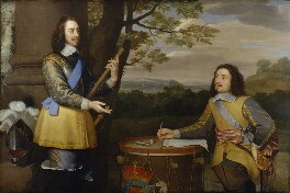 King Charles I; Sir Edward Walker, by Unknown artist - NPG 1961