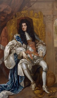 King Charles II, attributed to Thomas Hawker, circa 1680 - NPG  - © National Portrait Gallery, London