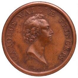 Prince Charles Edward Stuart, attributed to Thomas Pingo Jr, circa 1745-1750 - NPG 1052 - © National Portrait Gallery, London