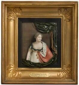 Princess Charlotte Augusta of Wales, by Samuel Percy, 1814 - NPG 3086 - © National Portrait Gallery, London