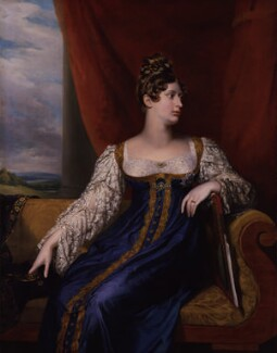 Princess Charlotte Augusta of Wales, by George Dawe, 1817 - NPG 51 - © National Portrait Gallery, London
