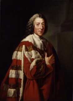 William Pitt, 1st Earl of Chatham, after Richard Brompton - NPG 259