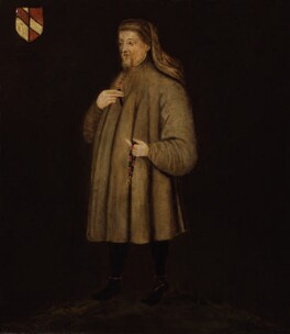 Geoffrey Chaucer, after Unknown artist, late 16th century, based on a work of 1400 - NPG 532 - © National Portrait Gallery, London