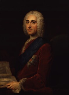 Philip Dormer Stanhope, 4th Earl of Chesterfield, after William Hoare - NPG 158