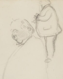 G.K. Chesterton, by Sir David Low, 1926 or before - NPG 4529(80) - © Solo Syndication Ltd