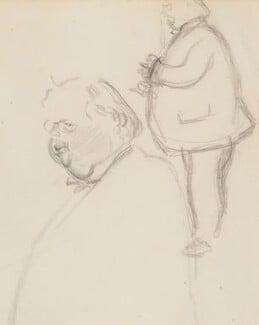 G.K. Chesterton, by Sir David Low - NPG 4529(80)