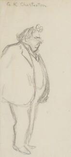 G.K. Chesterton, by Sir David Low - NPG 4529(81)