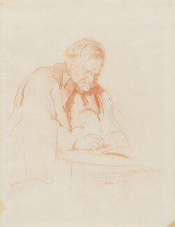 G.K. Chesterton, by Sir James Gunn, 1932 - NPG 3984 - © National Portrait Gallery, London