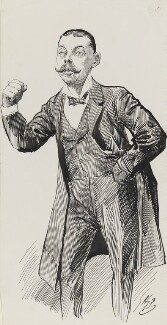 Lord Randolph Churchill, by Harry Furniss - NPG 3351