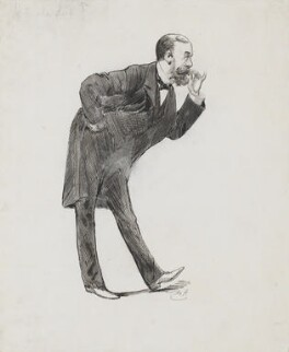 Lord Randolph Churchill, by Harry Furniss - NPG 3352