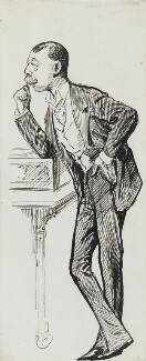 Lord Randolph Churchill, by Harry Furniss - NPG 3559