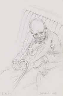 Winston Churchill, by Juliet Pannett - NPG 4474