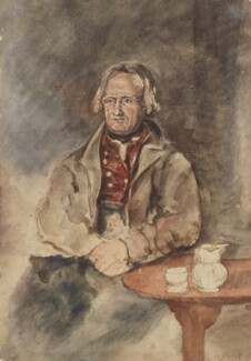 Unknown man, formerly known as John Clare, by William Henry Hunt - NPG 3843