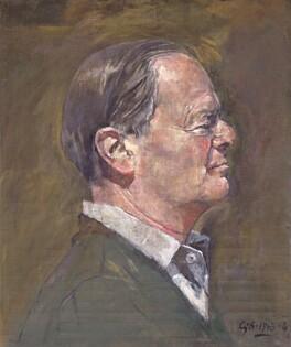 Kenneth Clark, Baron Clark, by Graham Vivian Sutherland, 1963-1964 - NPG 5243 - © National Portrait Gallery, London