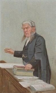 Sir Edward George Clarke, by Sir Leslie Ward - NPG 2700