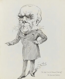 Sir Edward George Clarke, by Harry Furniss - NPG 3442