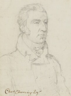 Charles Clavering, by Sir George Hayter - NPG 883(7)